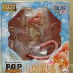 ワンピーススケールフィギュア、POP『しらほし姫』を高価買取いたしました。