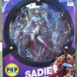 広島市安佐南区で、ワンピース『P.O.P サディちゃん Excellent Model』を高価買取しました。