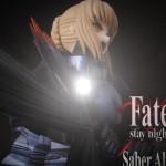Fate/stay night 「セイバーオルタ」 お譲りして頂きました。広島市フィギュア買取りNO,1!