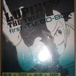 広島市安佐南区で、『ルパン三世 first- TV. BD-BOX 』を買い取らせて頂きました!