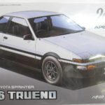フジミ模型 1/24 インチアップシリーズ No.57 「ハチロクトレノ 2ドア GT APEX 後期型 '85 」を売って頂きました!
