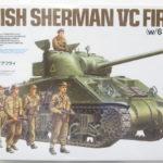 タミヤ「イギリス陸軍 戦車 シャーマン VC ファイアフライ 人形6体付 プラモデル」を売って頂きました!