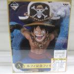 ワンピース 一番くじ ルフィ記念フィギュアを買取り!広島市グリーンスタイル!