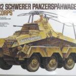 タミヤ「ドイツ陸軍 8輪重装甲車 Sd.Kfz.232 アフリカ軍団」を買取り入荷致しました!
