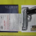 モデルガン BERETTA M92F ステンレスモデル タナカ tanaka ベレッタ お買取りさせて頂きました。